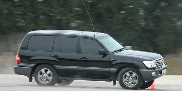 Armored SUV Driver training
