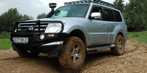 Armored SUV Off Road Driver Training