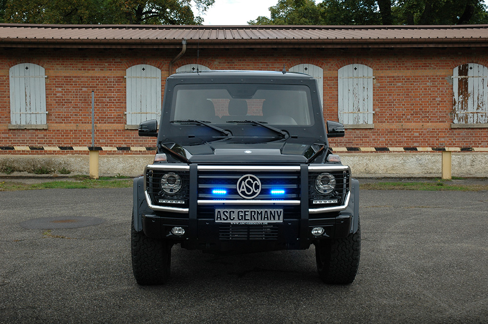 Asc germany for Mercedes benz armored